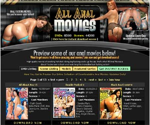 All Anal Movies - 9434 DVDs, 48277 Scenes and growing!