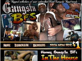 Welcome to Gansta BFs - horny gansta boyfriends suck and fuck in the house!