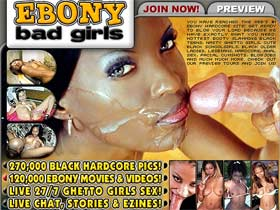 Ebony Bad Girls! The Hottest Sex Crazed Ebony Sluts Online! Sweet Booty Girls!