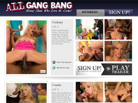 All GangBang - The best gangbang, group sex action on the web! Horny Sluts Who Love 4+ Cocks!
