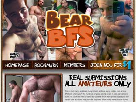 Welcome to Bear BFs - hairy and totally hung manly hotties in solo and hardcore action!