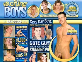 Exciting Boys - Sexy gay boys who wanting to fuck