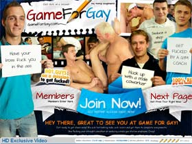 Game For Gay - horny gays sent on mission to seduce other men!