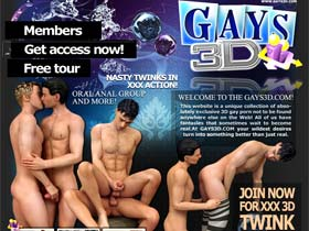 Welcome to Gays 3D - Unique 3D content! 3D gay toons, 3D gay pics, 3D gay anime, 3D gay hentai!