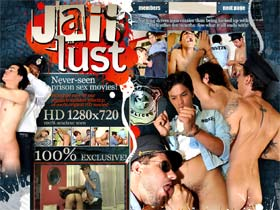 Welcome to Jail Lust - horny uniform men in tough prison gay videos!