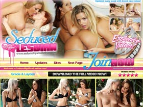 Welcome to Seduced By A Real Lesbian! Hot Chick Seduced By REAL Lesbians! Totally New And Exclusive Content!