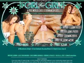 Girl For Girl - A True World Class Lesbian Mega-Site