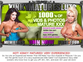 Kinky Mature Sluts