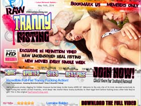 Raw Tranny Fisting � Anal Shemale Fisting Porn, Tranny Ass Fucking Videos and Movies!