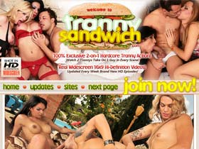 Tranny Sandwich - Shemale, Tranny and Transexual Hardcore Anal Gangbang Porn! Ladyboy Threesome Fucking Videos and Groupsex Movies!