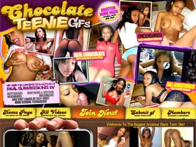 Chocolate Teenie GFs! Welcome to the biggest amateur ebony teen site on the web. See a lot of amateur black GFs pictures and watch these chocolate hotties sucking and getting fucked hard in from of the camera!