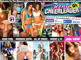 Welcome to the imaginary world of exceptionally hot Teenie Cheerleaders who are so sexually starved that they are ready to suck and ride any cock they do see around. Come to see cheerleaders play lesbian games in front of the camera.