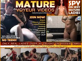 Welcome to Mature Voyeur Videos! Only Real Ladies Over 40 Caught on Hidden Cams! Spy on Sexy Mature Ladies!