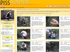 Welcome to Piss Hunters! Female Public Urination, only real voyeur stuff! Outdoor pee voyeur!