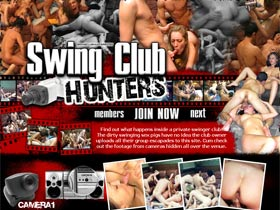 Welcome to Swing Club Hunters! The dirty swinging sex pigs have no idea the club owner uploads all their group escapades to this site. Hidden swinger orgies!