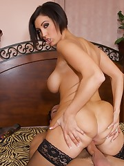 Dylan Ryder is so horny she can't resist her stepson's cock