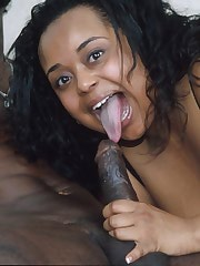 Big ebony mama rides a hard cock