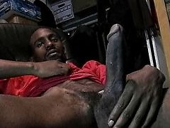 Horny black cock pull to sex tape