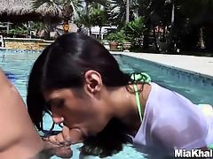 Mia Khalifa's First Ever Creampie Scene (mk13785)